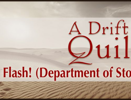 A Drift of Quills: Flash! (Department of Stories)