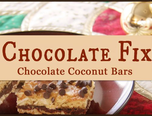 Chocolate Fix: Chocolate Coconut Bars