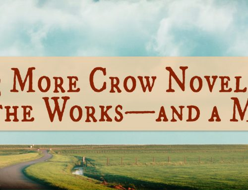 3 More Crow Novels in the Works—and a Map!
