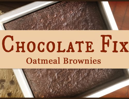 Chocolate Fix: Oatmeal Brownies