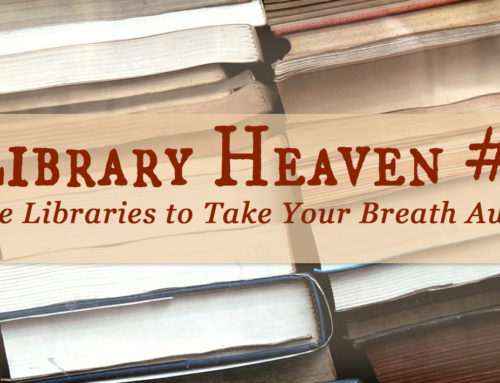 Book Spaces That Take Your Breath Away (Library Heaven #3)