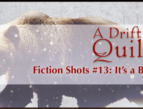 A Drift of Quills:  Fiction Shots #13 (It's a Bear!)